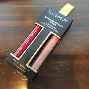 Sigma Opposites Attract Lip Duo Liquid Lipstick